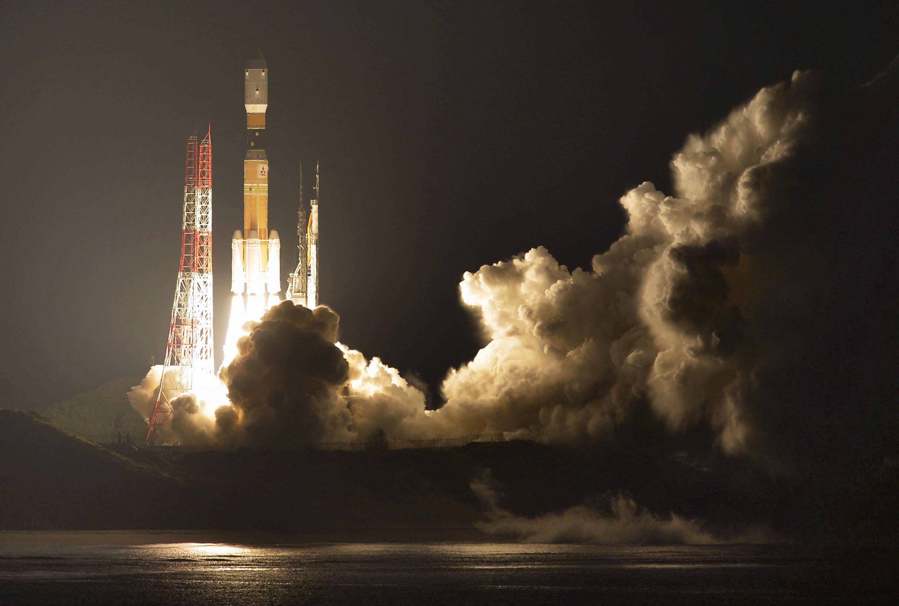 Japan launches much-needed supplies to space station