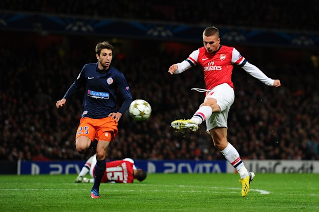 Arsenal FC v Montpellier Herault SC - UEFA Champions League