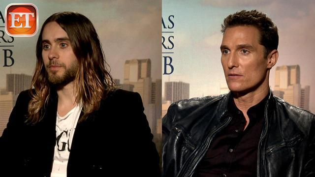 McConaughey, Leto Discuss Drastic Weight Loss