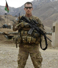 This undated U.S. Army photo, shows Sgt. Michael C. Cable, 25, of Philpot, Ky. during his deployment in Afghanistan. An Afghan teenager killed Cable in eastern Afghanistan by stabbing him in the neck while he played with a group of local children, officials said Monday, April 1, 2013. (AP Photo/U.S. Army)