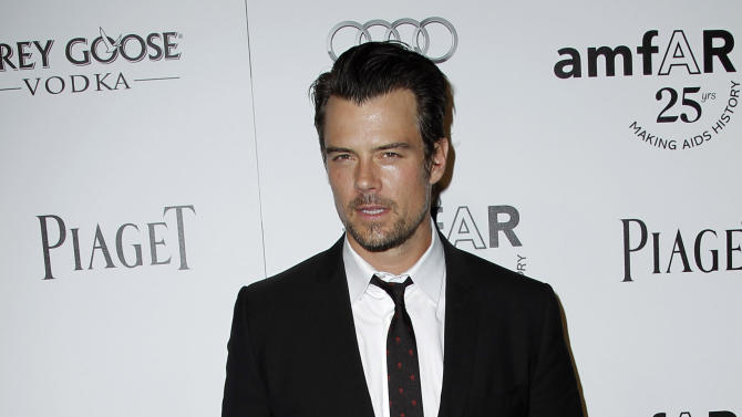 "FILE - In this Oct. 27, 2011 file photo, Josh Duhamel arrives at amfAR's Inspiration Gala in Los Angeles. The Gala benefits AIDs research worldwide. The Gala benefits AIDs research worldwide. Duhamel, the star of ""Transformers: Dark of the Moon"" was named on Tuesday, Jan. 22, 2013, as host of Nickelodeon's 26th Annual Kids' Choice Awards, which will be broadcast from the Galen Center in Los Angeles on March 23, 2013. (AP Photo/Matt Sayles, file)"