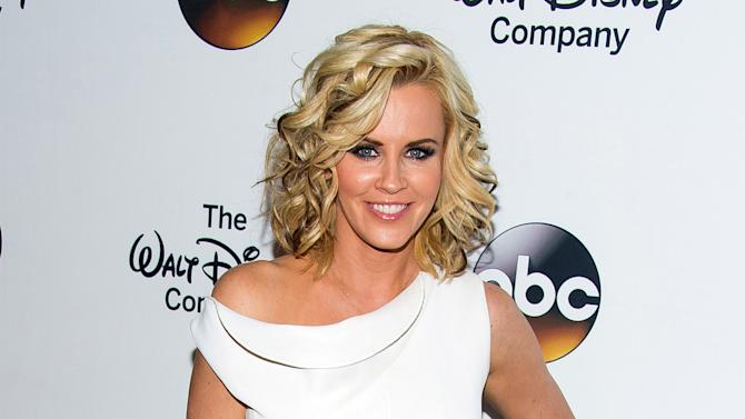 "FILE - In this May 14, 2014, file photo, actress Jenny McCarthy attends ""A Celebration of Barbara Walters "" in New York. SiriusXM announced that Jenny McCarthy's Dirty, Sexy, Funny with Jenny McCarthy, a new daily live morning radio show on SiriusXM will launch on Monday, Oct. 27. (Photo by Charles Sykes/Invision/AP, File)"