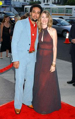 Ben Harper and Laura Dern at the Hollywood premiere of Warner Independent Pictures' We Don't Live Here Anymore
