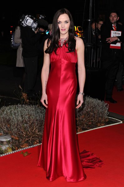 Military Awards red carpet: Victoria Pendleton  Rex