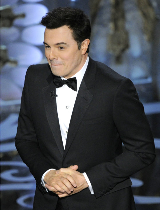 Host Seth MacFarlane performs&nbsp;&hellip;
