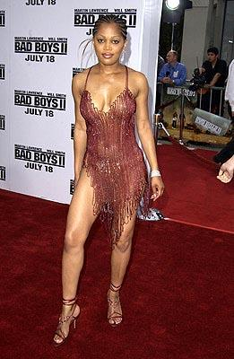 Theresa Randle at the LA premiere of Columbia's Bad Boys II