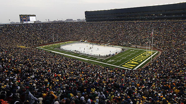 Exclusive: Univ. Of Michigan, NHL In Advanced Discussions For 2013 Winter Classic