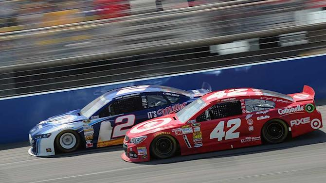 Keselowski can't keep top-five streak alive