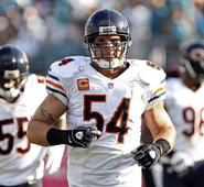 Urlacher is talking with division rival Minnesota