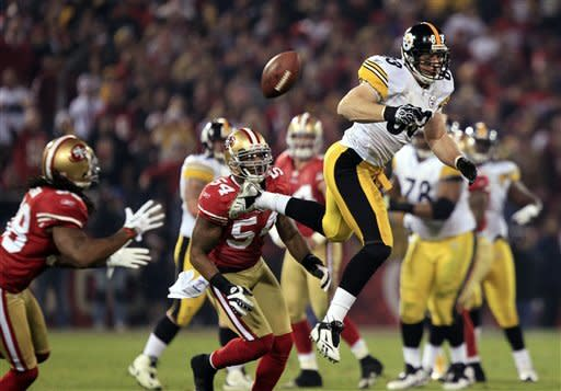 49ers beat Big Ben, Steelers 20-3