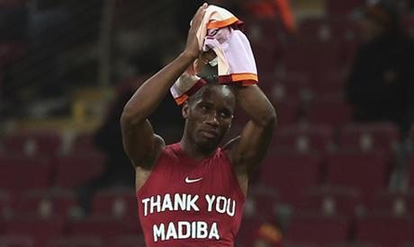 Ivory Coast's Drogba, Eboue escape fine for Mandela tribute