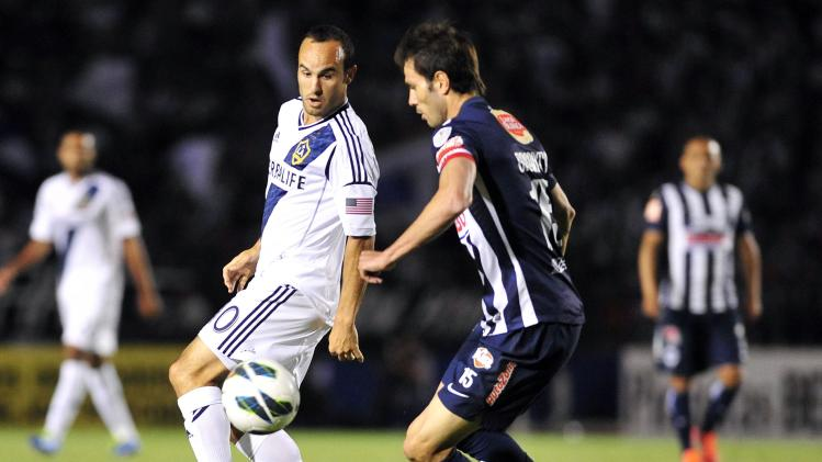 MLS: Champions League-Los Angeles Galaxy at Monterrey