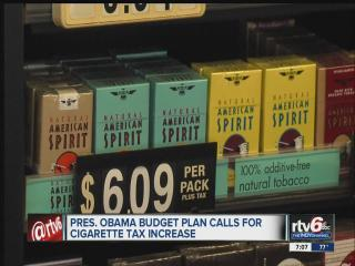President Barack Obama wants to increase cigarette tax by 94 cents per pack