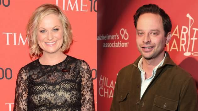 Amy Poehler, Nick Kroll -- Getty Images