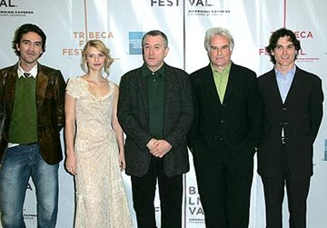 Ben Chaplin, Claire Danes, Robert De Niro, Richard Eyre and Billy Crudup Tribeca Film Festival, May 8, 2004