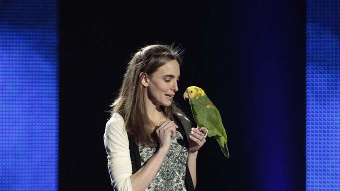 "Echo of Animal Gardens (animal act) is one of the Top 48 acts on Season 6 of ""America's Got Talent."""