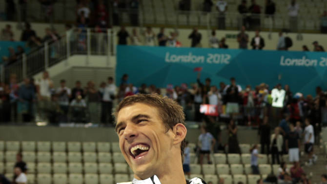 Phelps breaks the record with gold in London
