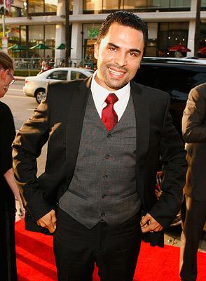 Manny Perez at the Los Angeles premiere of Picturehouse's El Cantante