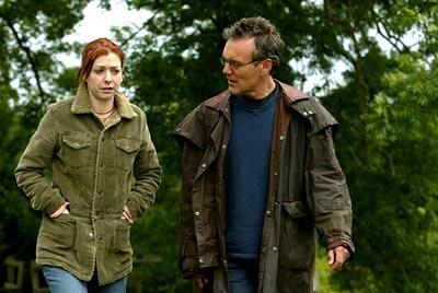 Alyson Hannigan and Anthony Stewart Head of Buffy The Vampire Slayer 