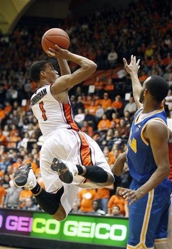 Cunningham, Collier help Oregon St. top UCLA 87-84