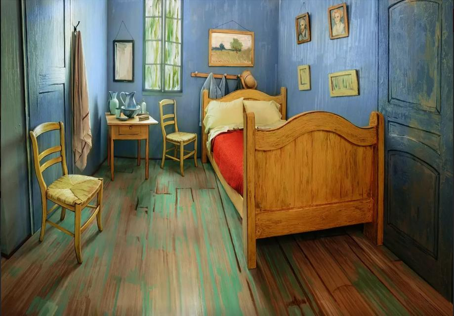Airbnb is offering a night in Van Gogh's bedroom for $10