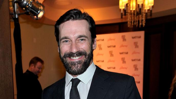 Jon Hamm attends Artists for Peace and Justice hosted by Vanity Fair and Brioni held at Bar Nineteen 12 on March 3, 2010 in Beverly Hills, California.