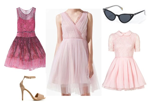 How to work pretty in pink like Olivia Palermo at Paris Haute Couture Shopping Fix