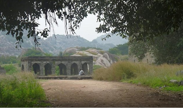 Inside Gingee Fort