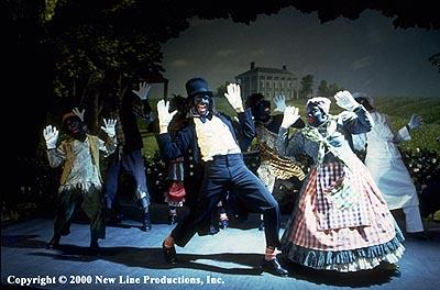Savion Glover (center) as Mantan in New Line's Bamboozled