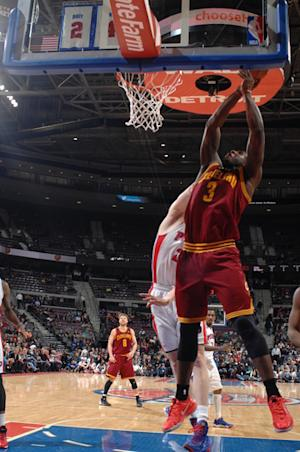 Waiters lifts Cavs over Pistons at buzzer, 97-96
