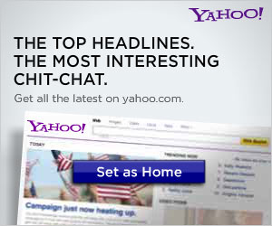 Set your homepage to Yahoo!
