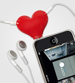 Tunes for 2 Headphone Splitter