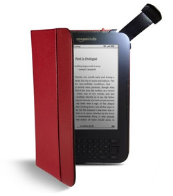 Kindle Lighted Leather Cover