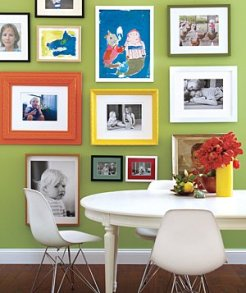 Hang Photos and Artwork on One Wall