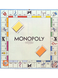 1936: Monopoly (Parker Brothers)