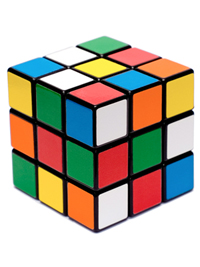 1980: Rubik's Cube (Ideal Toys)
