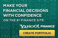 Yahoo! Finance Portfolio