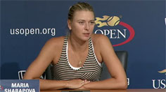 Sharapova Press Conference
