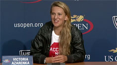 Azarenka Press Conference