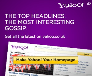 Set your homepage to Yahoo