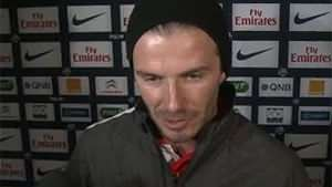 Becks bids farewell to pro-footy