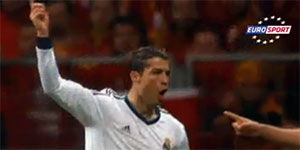 Ronaldo Screenshot Eurosport