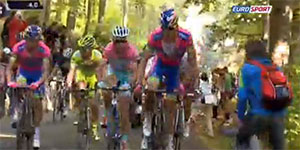 Radsport Screenshot Eurosport
