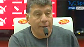 Miguel ngel Brindisi en conferencia de prensa. / Foto: Captura de pantalla TyC Sports