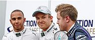 Rosberg puts Mercedes on pole in Monaco