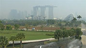 Haze hangs over Singapore