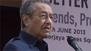 Dr M wants less freedom