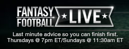 Watch Fantasy Football Live now!