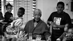 Nelson Mandela's last photo shoot