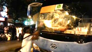 Fatal accident leads to riots in SG